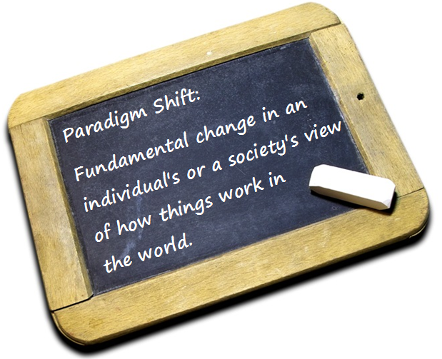 Paradigm Shift Changes Your Life