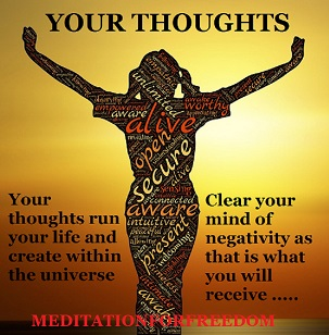 Thoughts Create The Reality You SEE