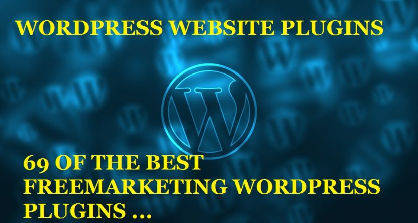 69 WORDPRESS WEBSITE PLUGINS