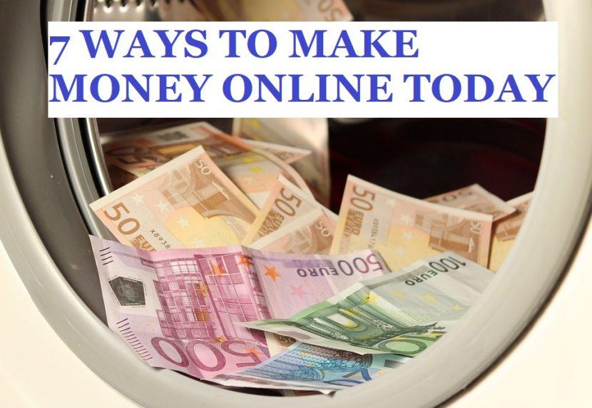 Make Money Online 7 Ideas