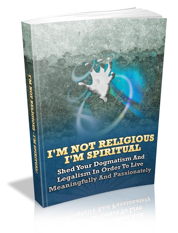 Non Religious Spiritual Being