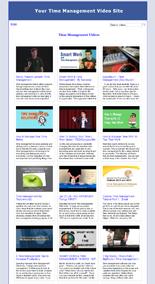 time management turnkey website
