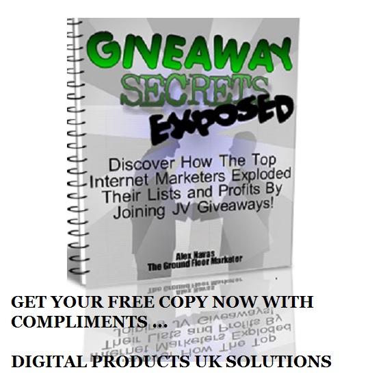 free giveaway secrets e-book