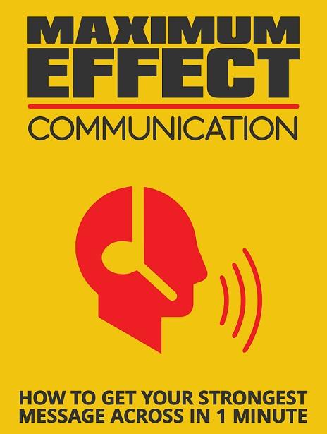 Maximum Effective Online Communication