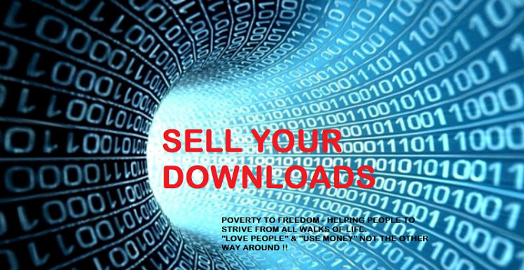 Sell downloads