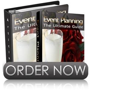 event planning e-book