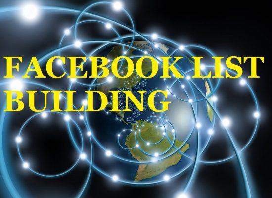 Facebook Advertising List Building