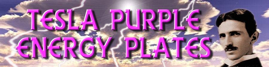 Tesla Purple Energy Plates