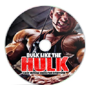 Muscle mass bulk like the hulk