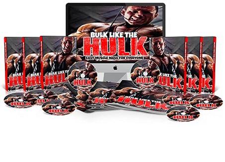 Muscle Mass Bulk Like The Hulk