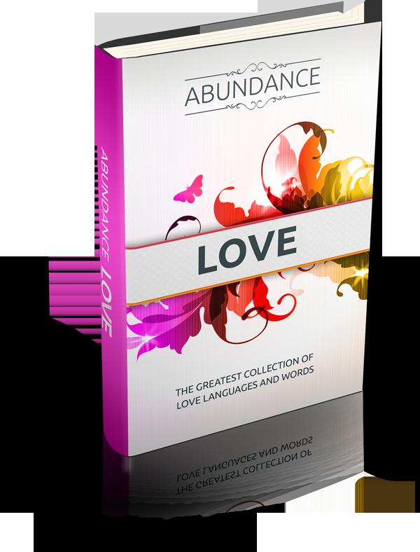 Abundance Love The Law of Attraction e-Book