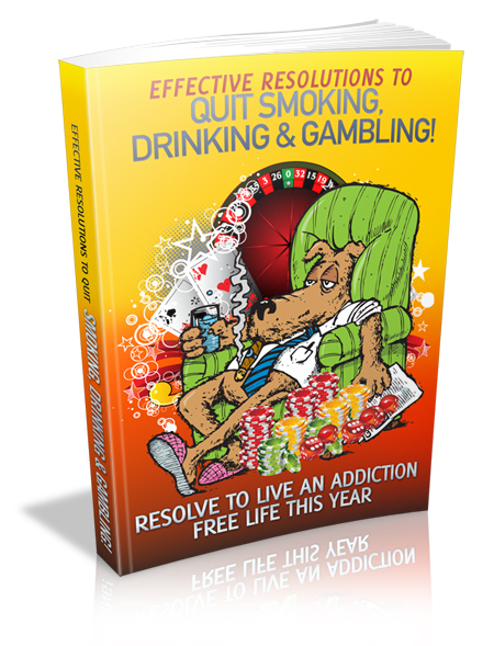 Smoking Drinking Gambling Self Help