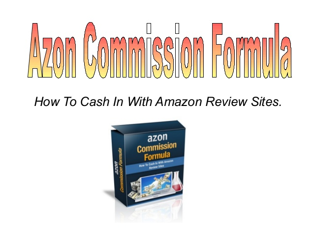 AZON Commission Formula Affiliate Tutorials