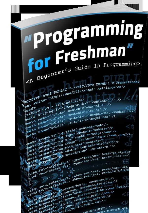 Programming Freshman