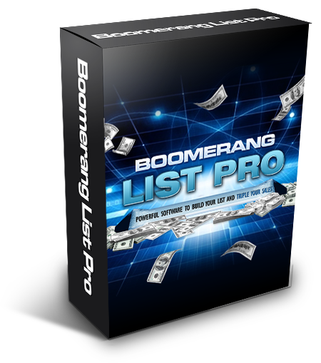 WordPress List Building Plugin Boomerang Pro